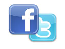 FB & Twitter Logos